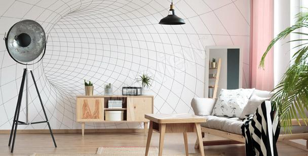 Fotomural túnel malla
