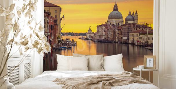 Fotomural Venecia para el dormitorio