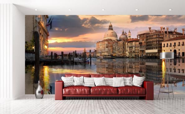 Fotomural Venecia y gran canal