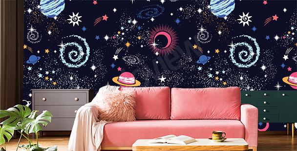 Fotomurales constelaciones cósmicas