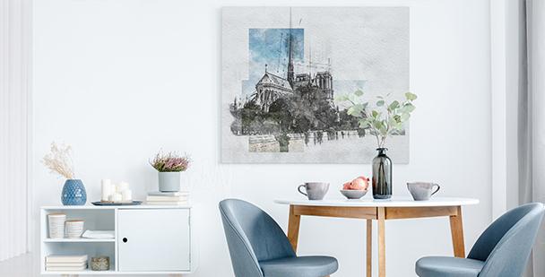 Moderno cuadro París