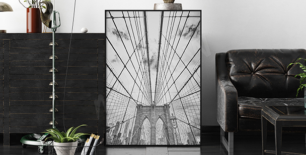 Póster Brooklyn Bridge