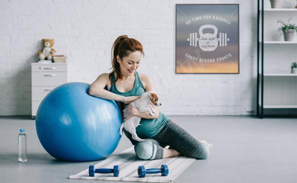 póster de fitness