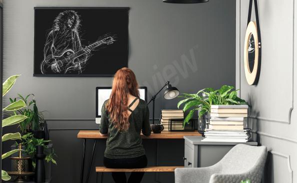 Poster del músico Brian May