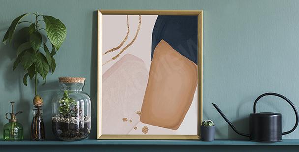 Póster estilo minimalista