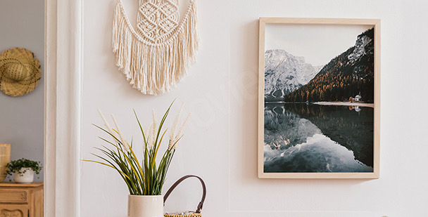 Poster Lago Braies