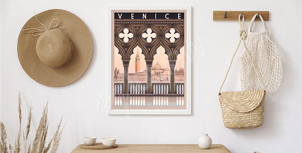 Póster mañana en Venecia