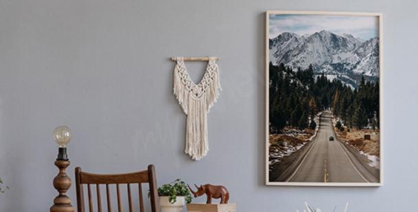 Póster montañas en Colorado