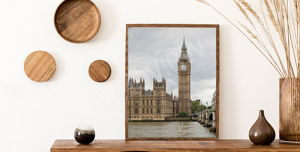 Póster vista del parlamento