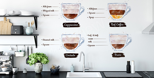 Vinilo café y sus tipos