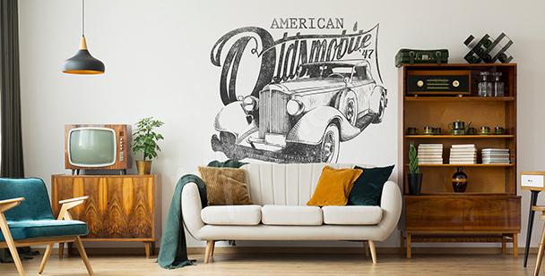 Vinilo coche americano