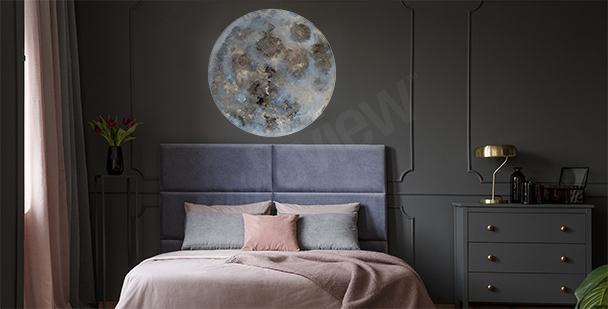Vinilo cosmos para dormitorio