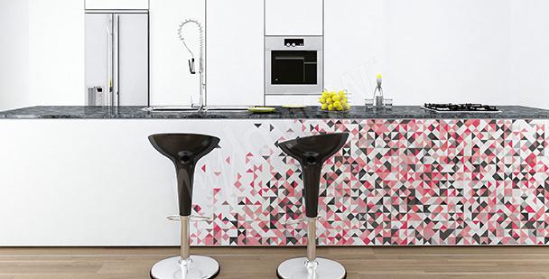 Vinilo decorativo con mosaico