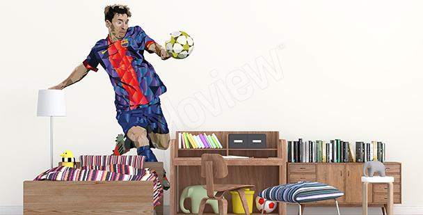 Vinilo deportivo Leo Messi