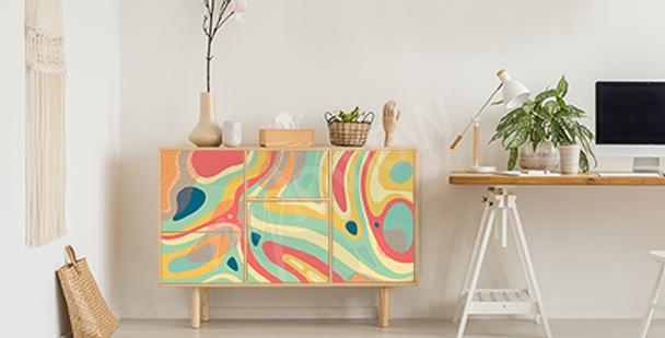 Vinilo diseño colorido