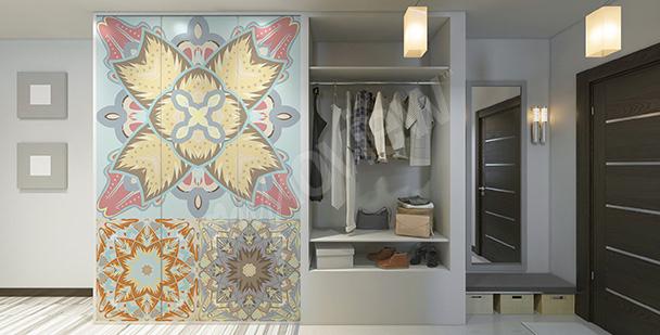 Vinilo en estilo árabe para un armario