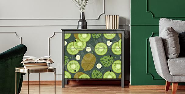 Vinilo frutas para el armario