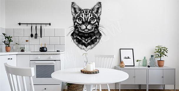 Vinilo gato de bengala