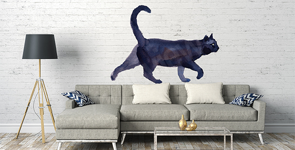 Vinilo gato negro
