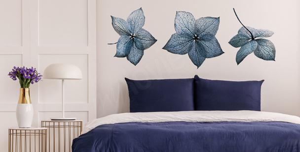 Vinilo hortensia azul