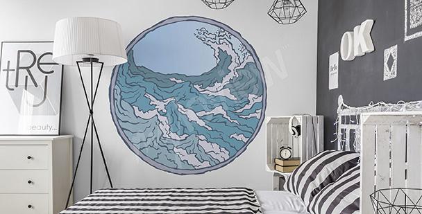 Vinilo marino para dormitorio