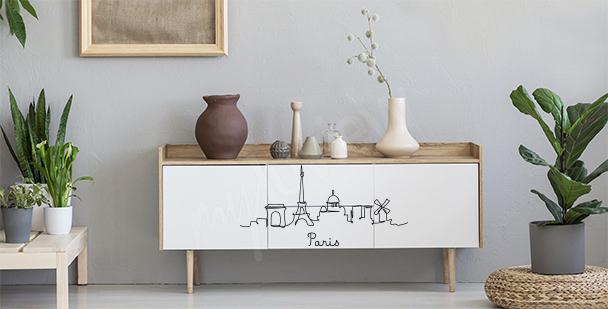Vinilo minimalista París