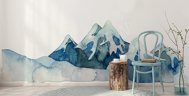 Vinilo naturaleza de montaña