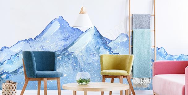 Vinilo paisaje nevado