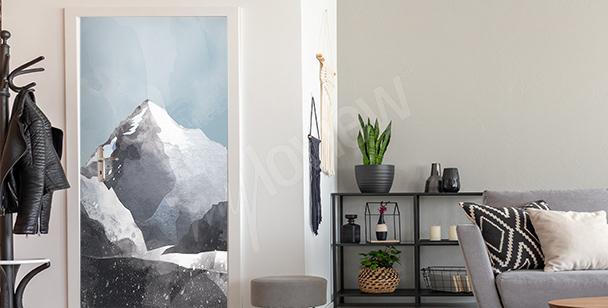 Vinilo para la puerta con la cumbre K2