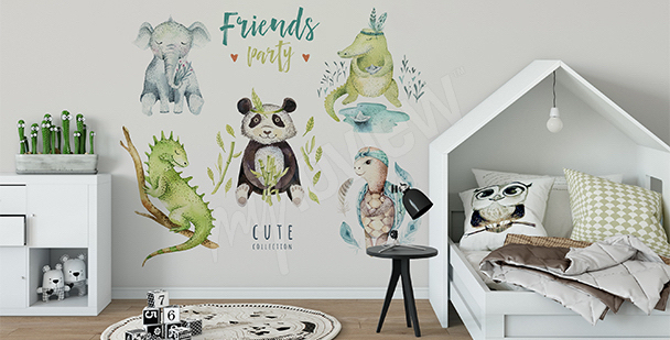Vinilo para niño: animales
