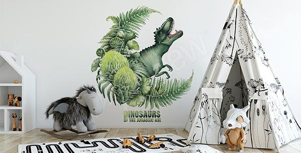 Vinilo para niño: dinosaurio