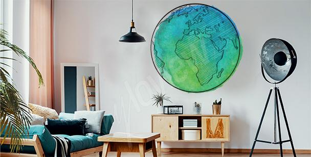 Vinilo planeta Tierra