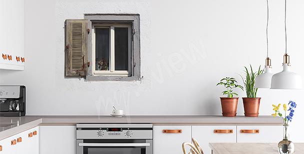 Vinilo ventana antigua